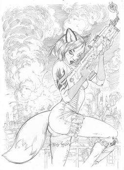 FOXYLADY by cuccadesign