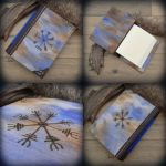 Viking wooden journal by Dark-Lioncourt