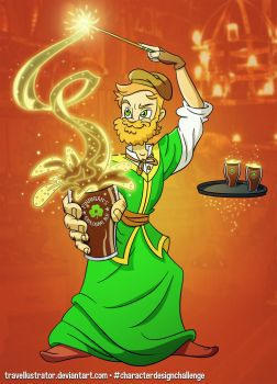 Finnigan's Explosive Ale - by travellustrator