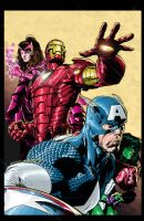 Avengers 501 colors by Absalom7