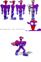 Purple man by Guile93