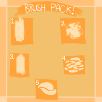 Fire Alpaca Brush Pack #3 by cheapkrabs