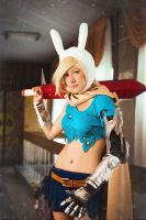 Fionna in chaos costume by KaitoEinsam