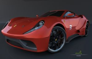 Ferrari Render Studio by ARTOFTHEOLDSCHOOL