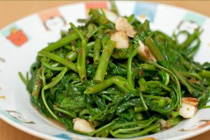 Fried kangkong again by patchow