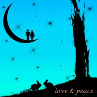 love and peace III by strafko