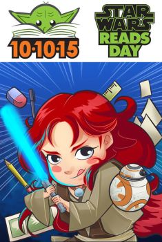 Star Wars Reads Day Pawa by Berelince