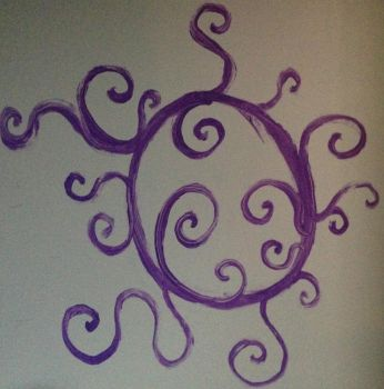 Wall Painting by DeadVikingPrincess