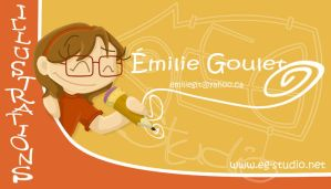 Business card by LittleMilie
