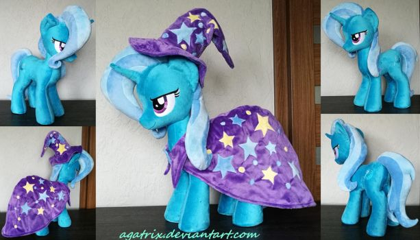 The Great and Powerful Trixie plush by agatrix