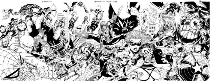 Invasion inked by BDStevens by wrathofkhan