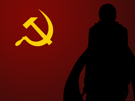 This Wallpaper is a Communist by Zemmer