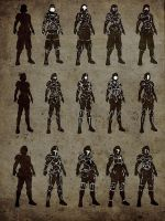 soldier_sillhouettes by Skyebrowz