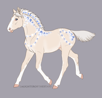 A2960 Foal Design by Cloudrunner64
