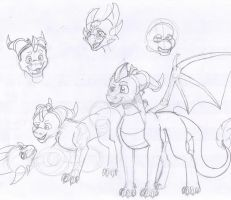 doodlies... by aacrell