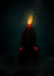 Candle Man by Nosferatu-Dude