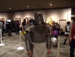 Alphonse Elric from ColossalCon 2013 by albertxlailaxx