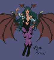 Lady Morrigan colour by bratchny