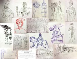 Study Abroad SketchDump! by MoPotter