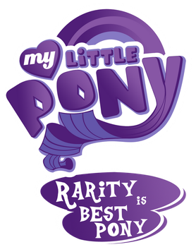 Fanart - MLP. My Little Best Pony Logo by jamescorck