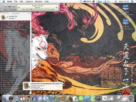 Okami Desktop by Lycanstrife