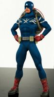 Captain america 2nd skin textures for M4 by hiram67