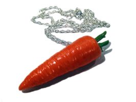 Carrot Necklace/Charm by delectablycharming