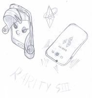 My little phoney, The Rarity S3 by R1pperAnthon
