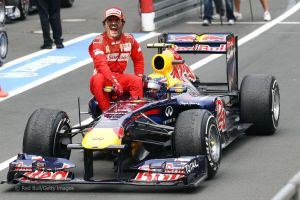 Mark webber and his clone)) by LidiaForza