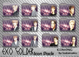 EXO Folder Icon Pack by SNSDraimakim
