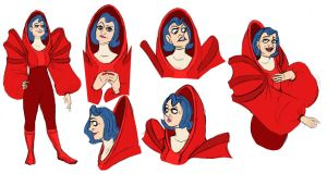 The Red Woman by Zimeta