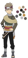 Male naruto oc adoptable 150 points by zombie-adoptables