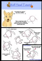 Wolf head tutorial by Aquene-lupetta