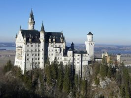 Castle Neuschwanstein 2 by ErinM2000