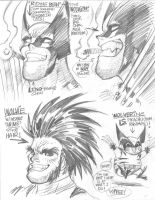 WOLVERINE for Wizard by AdamWarren