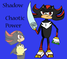 Chaotic Power - Shadow: Water by AGodofIrony