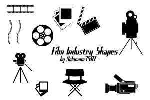 Film Industry Shapes by Nolamom3507 by Nolamom3507