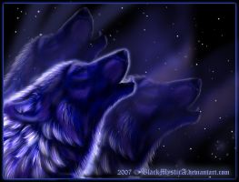 The Howling Blue by BlackMysticA