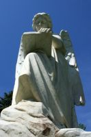 Mount Olivet Cemetery Archangel Uriel 68 by Falln-Stock