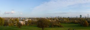 Primrose Hill panorama 1 by mayec