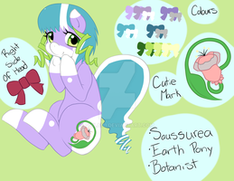Saussurea Updated Reference by quila111