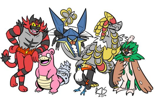My championship team! by ronnieraccoon