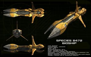 Species 8472 bioship ortho by unusualsuspex