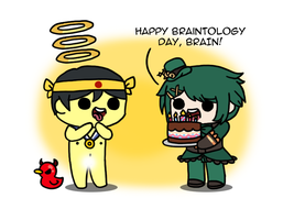 GO: Happy Braintology day by to-much-a-thing