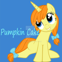 Pumpkin Cake by Bast13