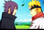 NARUTO 699- Sasuke and naruto by Ghazwi-Mohamed