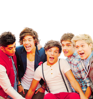 PNG One Direction #1 by Vaale-Editions
