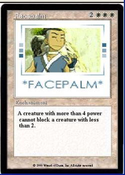 FACEPALM by sephiroth77799