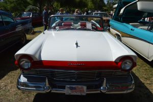 1957 Ford Fairlane 500 Convertible by Brooklyn47