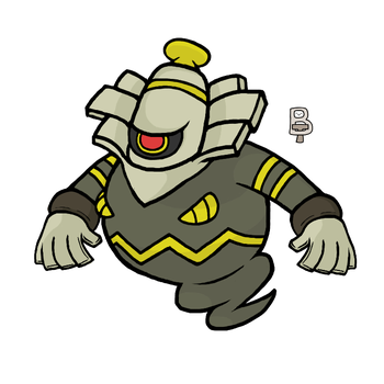 Dusknoir by BattleTeo
